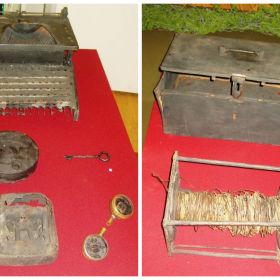 Пишущая машинка и сейф редакции газеты «Отвага» 2 ударной армии