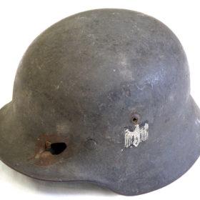 Шлем солдата вермахта