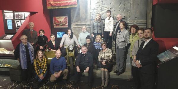 Музей-Мемориал Великой Отечественной войны посетили директора ведомственных музеев города Казани
