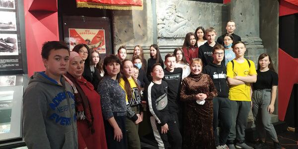 Музей-мемориал Великой Отечественной войны посетила Альфия Хабибуллина