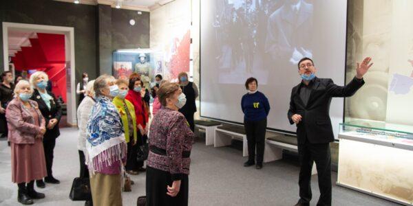 В Музее прошло мероприятие, посвященное годовщине снятия блокады с Ленинграда.
