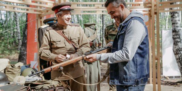 Сотрудники Музея-мемориала Великой Отечественной войны встретились с Министром по делам молодежи Республики Татарстан